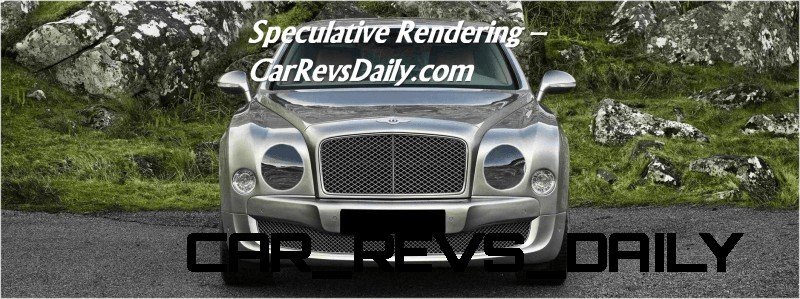 Bentley Mulsanne Nose Fix Rendering2