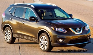 Best of Awards: 2014 Nissan Rogue Seats 7, Looks Cool, Gets There First