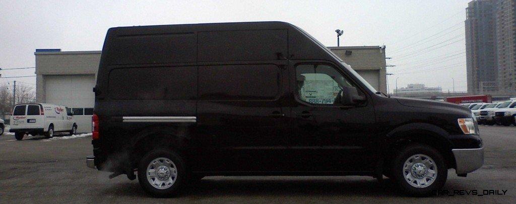 Best of Awards - Spy Van - Nissan NV2500 HD High Roof 24