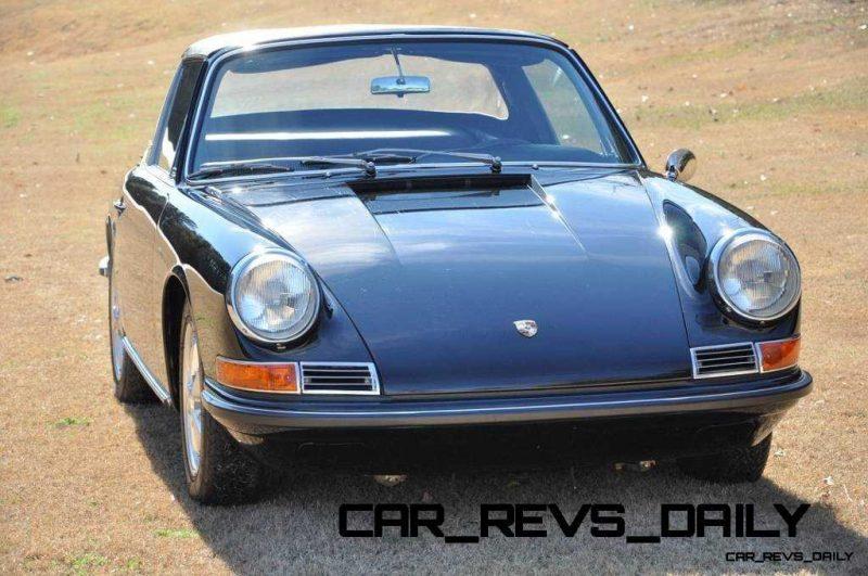 Black 1967 Porsche 911S Soft Window TARGA for sale in Raleigh NC 1