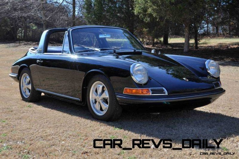 Black 1967 Porsche 911S Soft Window TARGA for sale in Raleigh NC 14