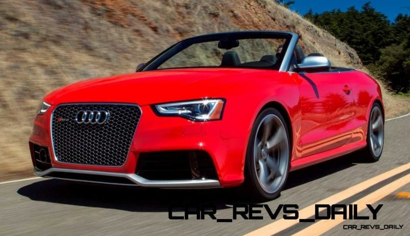 Buyers Guide to Audi RS5 Cabriolet for 2014 13