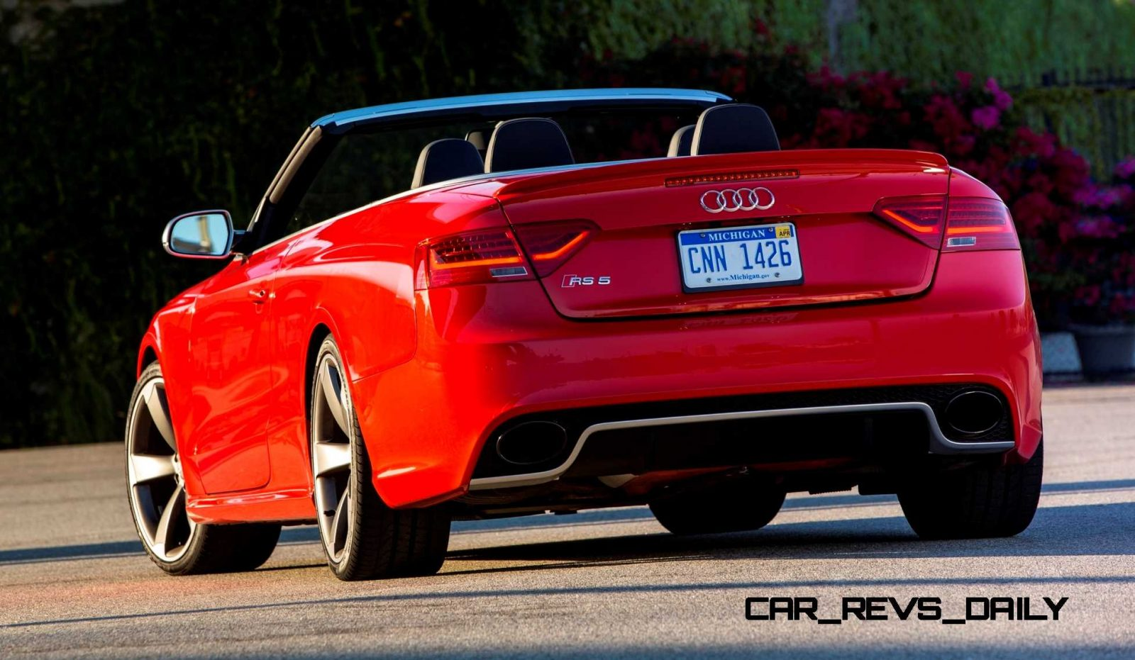 Audi RS5 Taming U S  Racetracks with New Colors and Black Ops from
