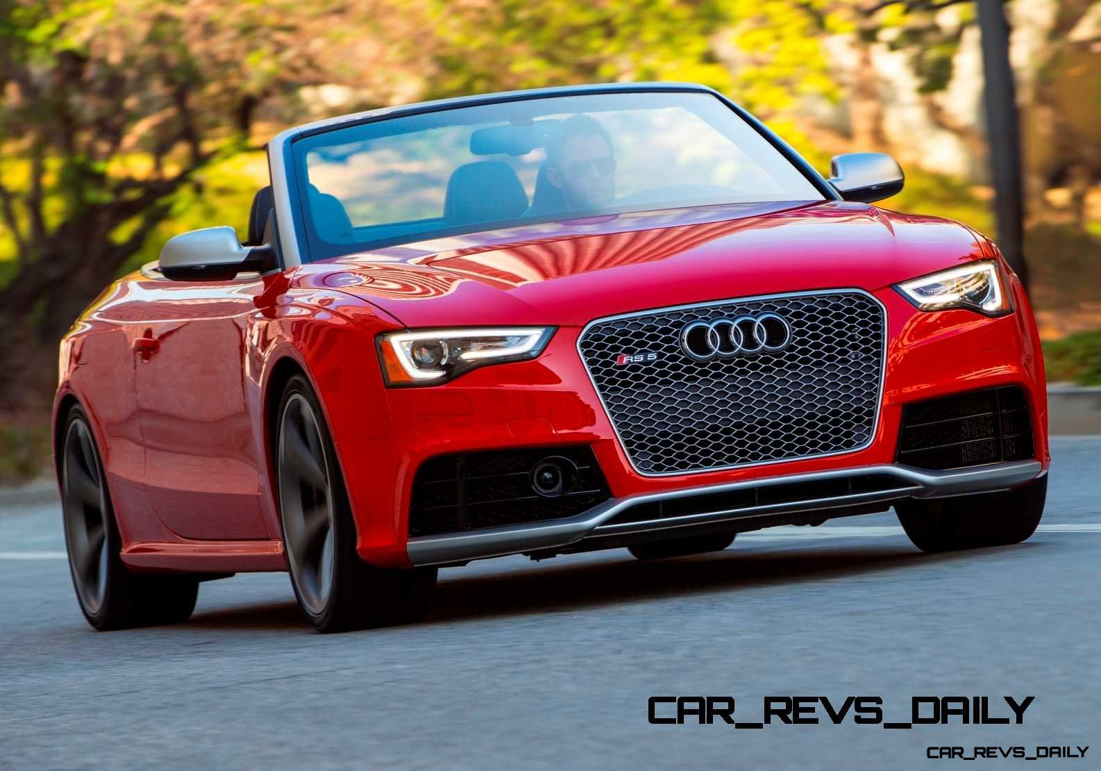 Buyers Guide 2014 Audi Rs5 Cabrio Sets Phasers To Sun