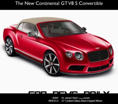 CarRevsDaily - 2014 Bentley Continental GTC V8 and V8 S  16