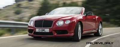 CarRevsDaily - 2014 Bentley Continental GTC V8 and V8 S  23
