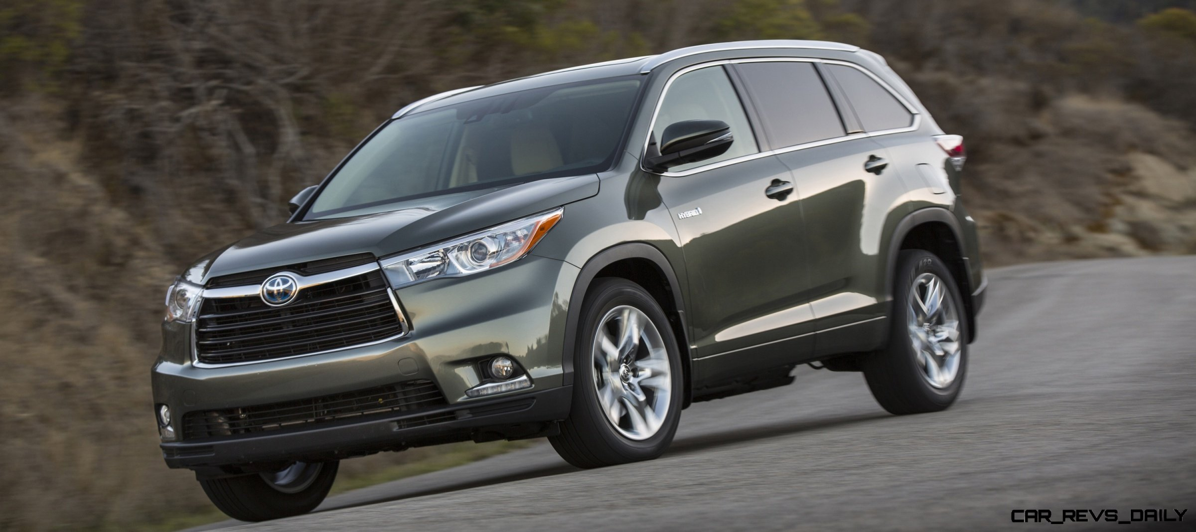 Carrevsdaily 2014 toyota highlander exterior photo15 Toyota highlander 2014 exterior