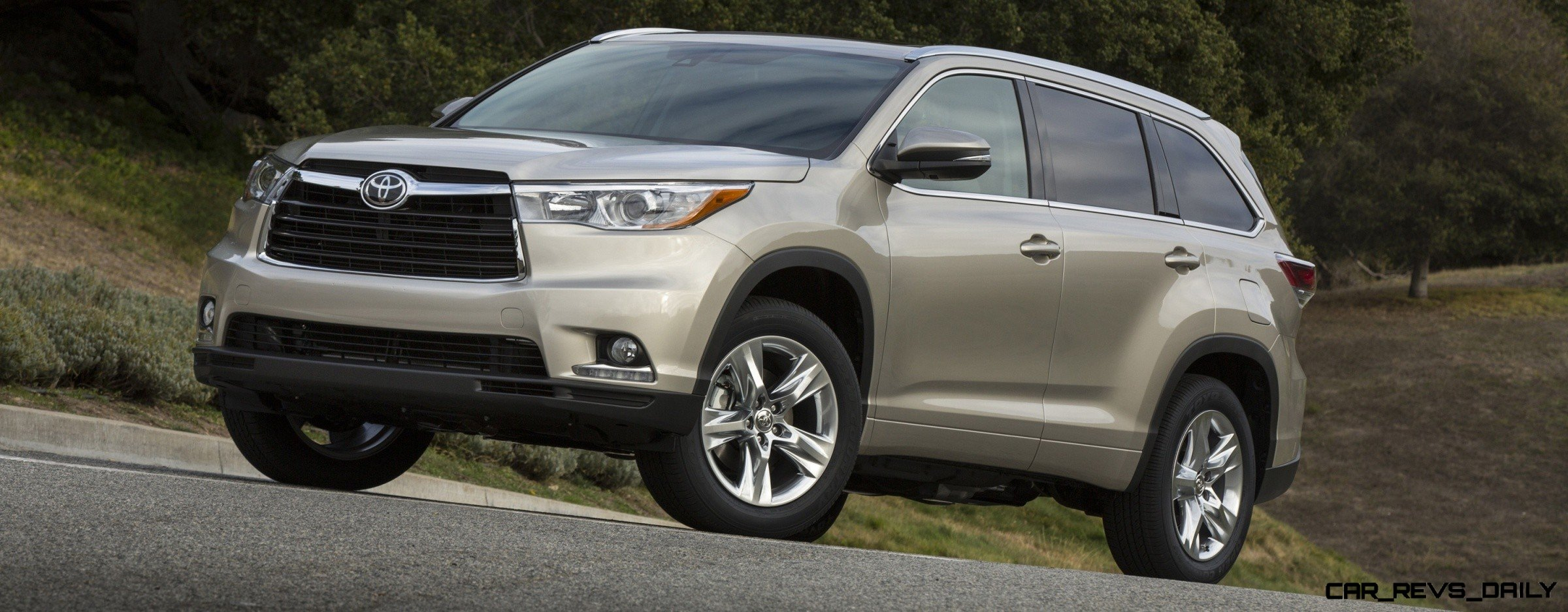 Carrevsdaily 2014 toyota highlander exterior photo36 Toyota highlander 2014 exterior