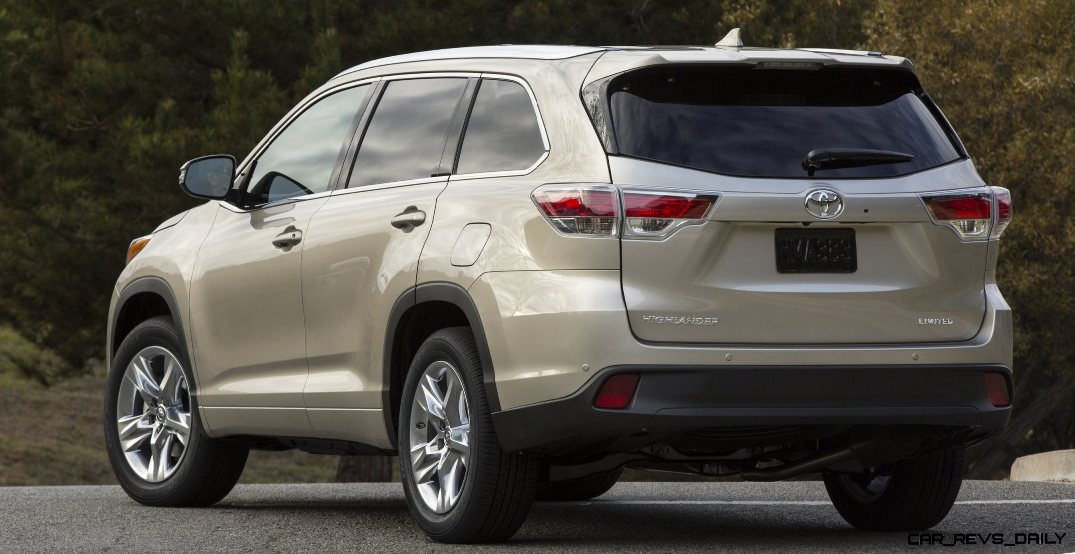 Carrevsdaily 2014 toyota highlander exterior photo40 Toyota highlander 2014 exterior