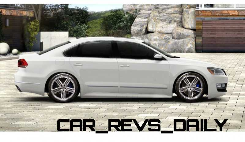 CarRevsDaily 2015 VW Passat R - Specilative Renderings 1