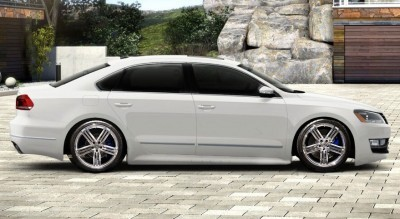 CarRevsDaily 2015 VW Passat R - Spec Renderings 1