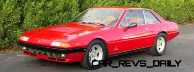 CarRevsDaily Chic Supercars - Ferrari 400i and 412i 2