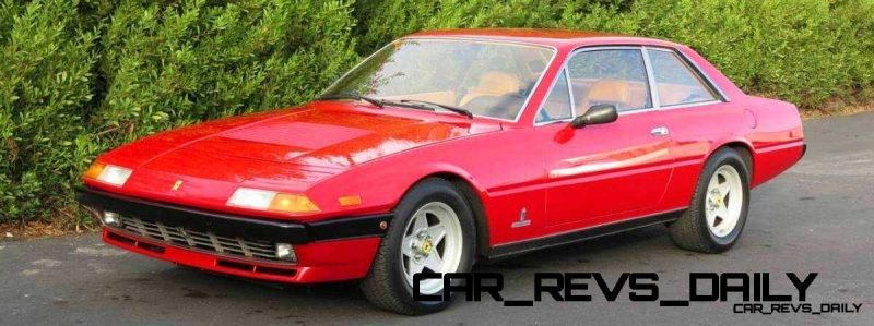 CarRevsDaily Chic Supercars - Ferrari 400i and 412i 2