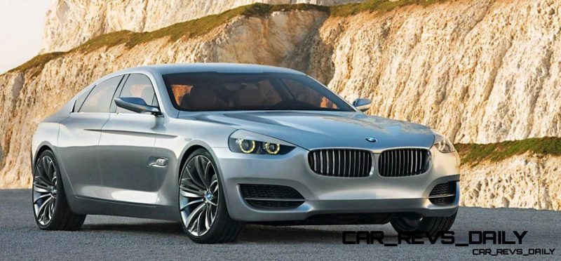 CarRevsDaily Concept FLashback - 2007 BMW CS 1