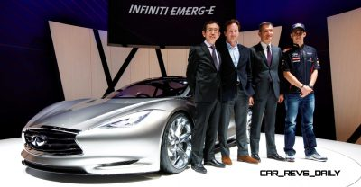 Infiniti Emerg-E Concept at the 2012 Geneva Motor Show