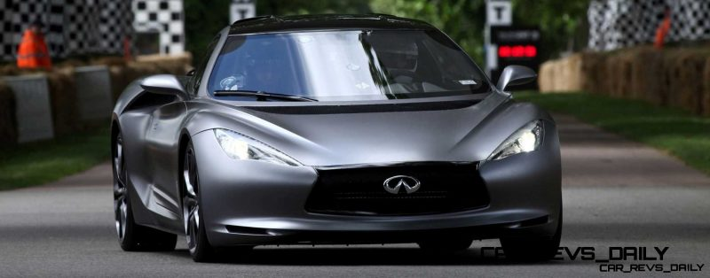 Infiniti Stars Dazzle at Goodwood Festival of Speed