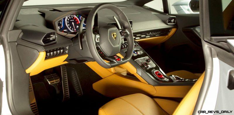 CarRevsDaily - Exclusive High-Res 2015 Lamborghini LP 610-4 Huracán 100