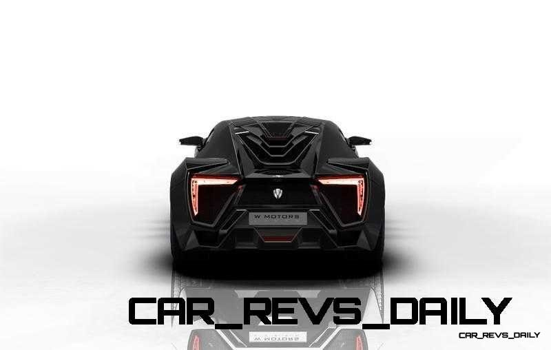 CarRevsDaily Supercars - 2014 W Motors Lykan Hypersport Colors 1