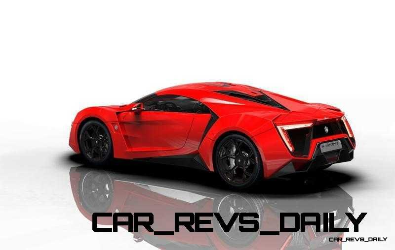 CarRevsDaily Supercars - 2014 W Motors Lykan Hypersport Colors 104