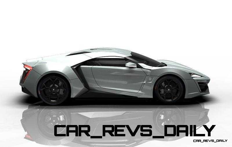 CarRevsDaily Supercars - 2014 W Motors Lykan Hypersport Colors 118
