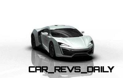 CarRevsDaily Supercars - 2014 W Motors Lykan Hypersport Colors 125