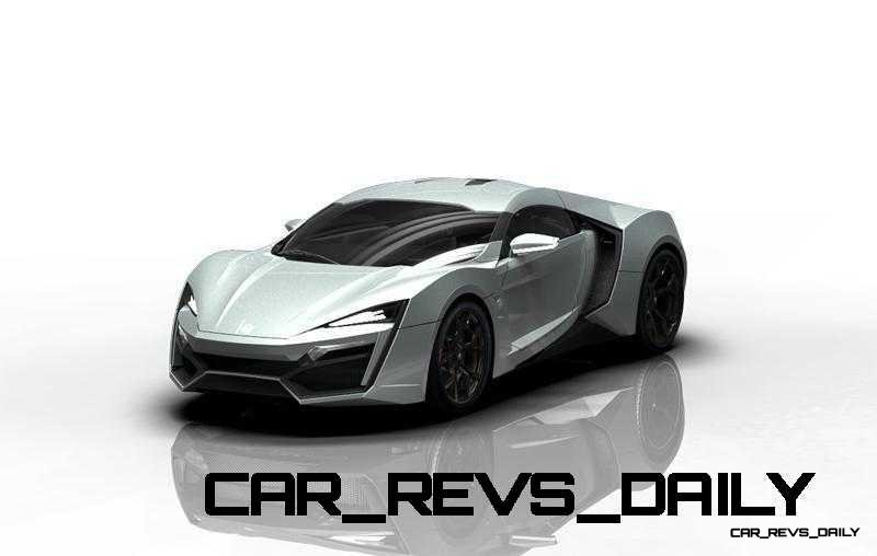 CarRevsDaily Supercars - 2014 W Motors Lykan Hypersport Colors 130