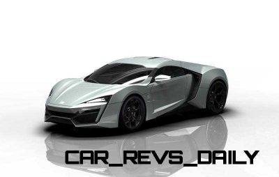 CarRevsDaily Supercars - 2014 W Motors Lykan Hypersport Colors 131