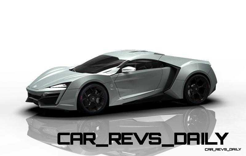 CarRevsDaily Supercars - 2014 W Motors Lykan Hypersport Colors 133