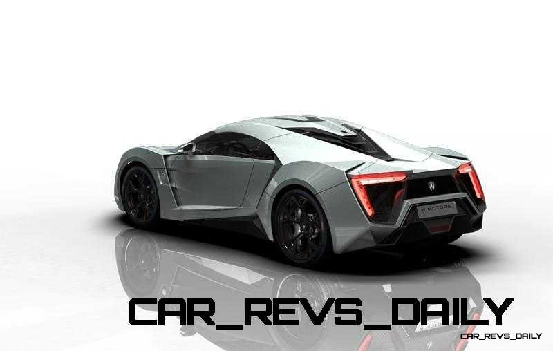 CarRevsDaily Supercars - 2014 W Motors Lykan Hypersport Colors 141