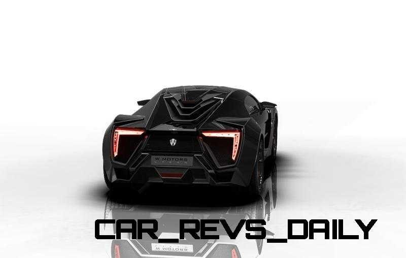 CarRevsDaily Supercars - 2014 W Motors Lykan Hypersport Colors 2