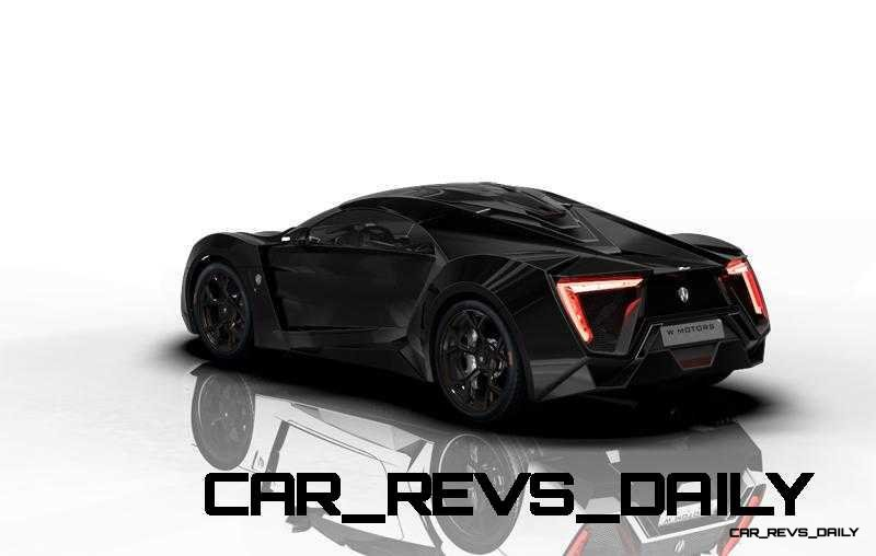 CarRevsDaily Supercars - 2014 W Motors Lykan Hypersport Colors 33
