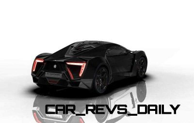 CarRevsDaily Supercars - 2014 W Motors Lykan Hypersport Colors 4