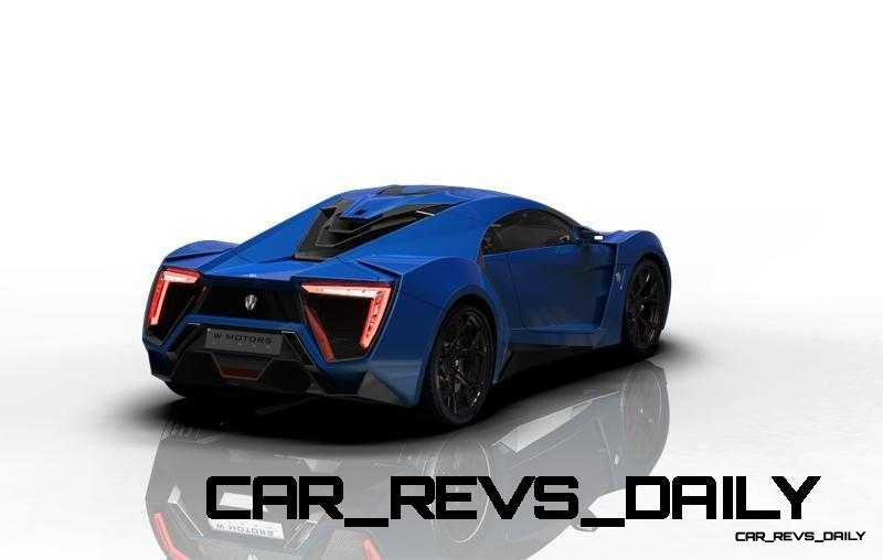 CarRevsDaily Supercars - 2014 W Motors Lykan Hypersport Colors 40