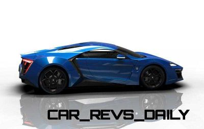 CarRevsDaily Supercars - 2014 W Motors Lykan Hypersport Colors 45