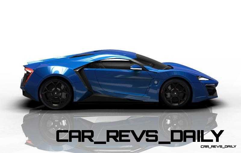 CarRevsDaily Supercars - 2014 W Motors Lykan Hypersport Colors 46