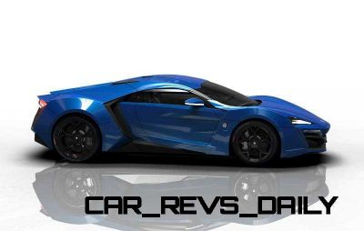CarRevsDaily Supercars - 2014 W Motors Lykan Hypersport Colors 47
