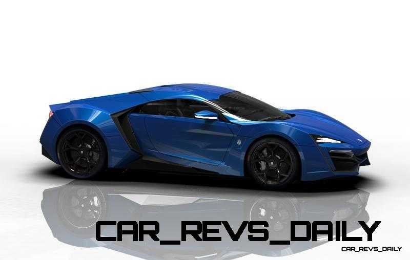 CarRevsDaily Supercars - 2014 W Motors Lykan Hypersport Colors 48