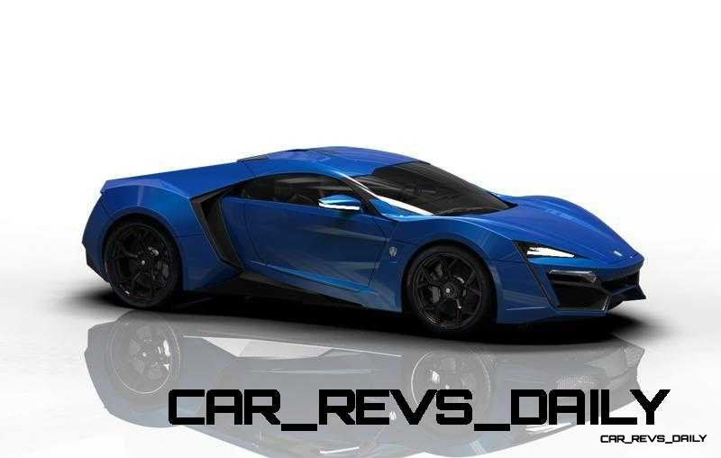 CarRevsDaily Supercars - 2014 W Motors Lykan Hypersport Colors 49