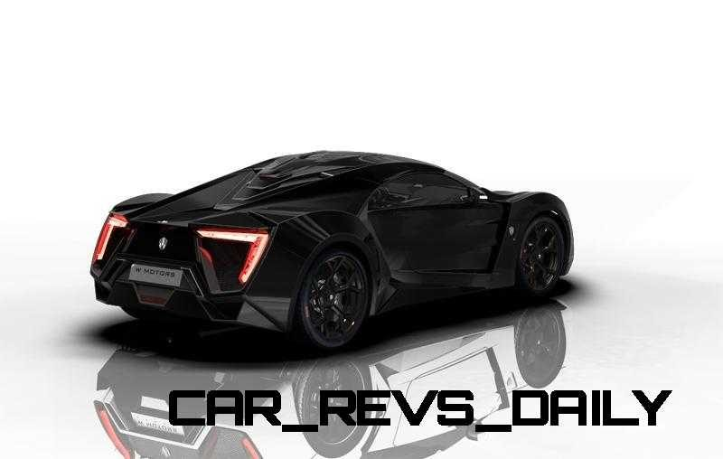 CarRevsDaily Supercars - 2014 W Motors Lykan Hypersport Colors 5