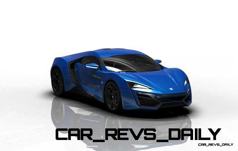 CarRevsDaily Supercars - 2014 W Motors Lykan Hypersport Colors 52