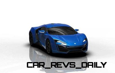 CarRevsDaily Supercars - 2014 W Motors Lykan Hypersport Colors 53