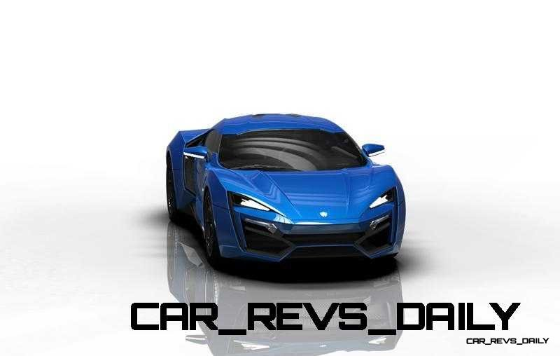 CarRevsDaily Supercars - 2014 W Motors Lykan Hypersport Colors 54