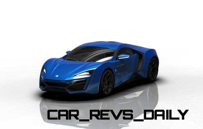 CarRevsDaily Supercars - 2014 W Motors Lykan Hypersport Colors 58