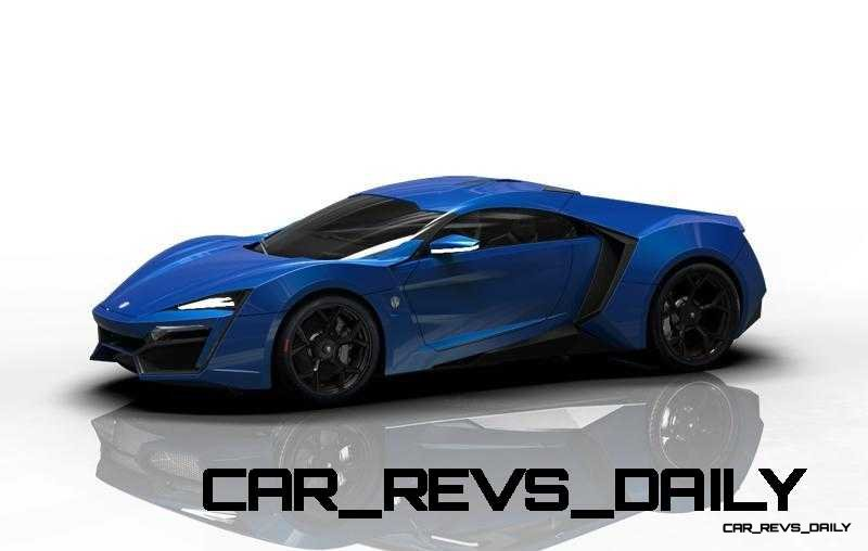 CarRevsDaily Supercars - 2014 W Motors Lykan Hypersport Colors 61