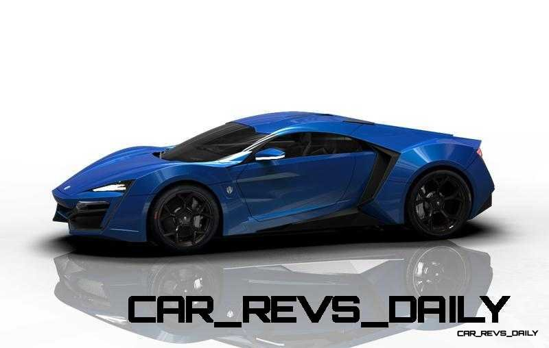 CarRevsDaily Supercars - 2014 W Motors Lykan Hypersport Colors 62