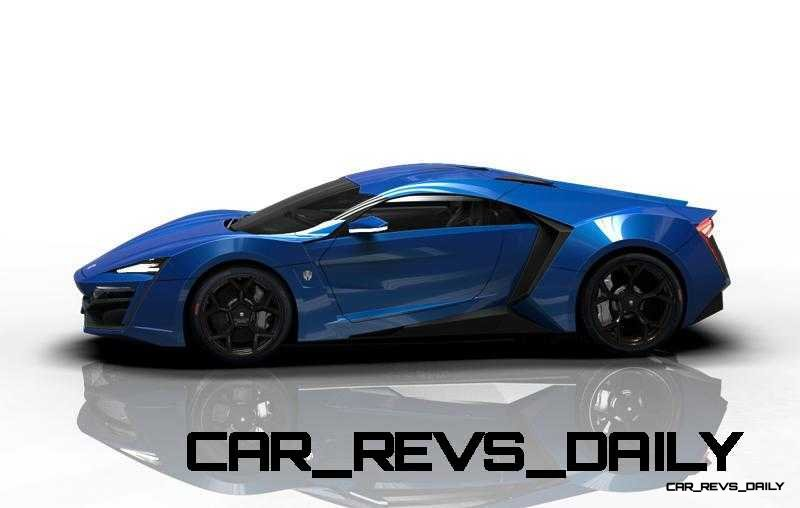 CarRevsDaily Supercars - 2014 W Motors Lykan Hypersport Colors 63