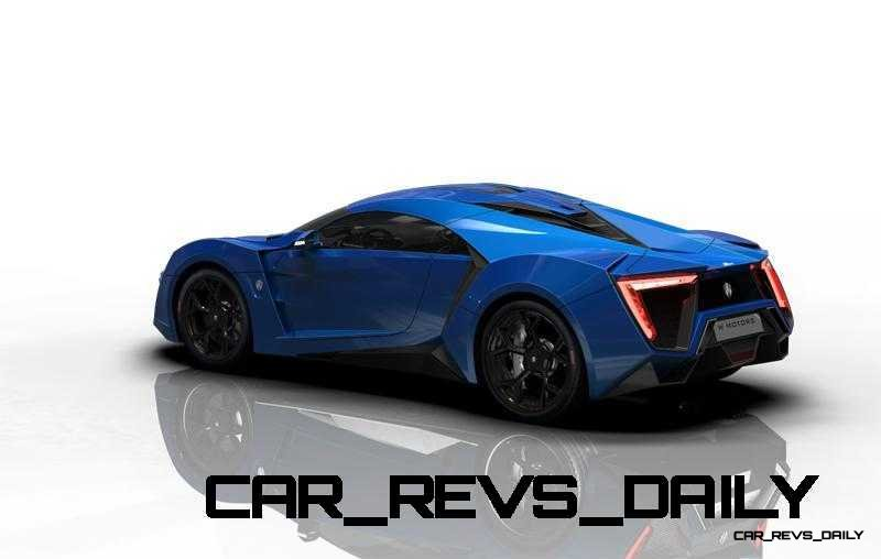 CarRevsDaily Supercars - 2014 W Motors Lykan Hypersport Colors 68