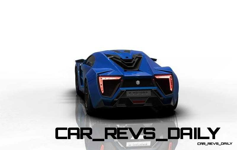 CarRevsDaily Supercars - 2014 W Motors Lykan Hypersport Colors 72