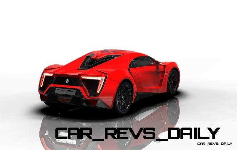 CarRevsDaily Supercars - 2014 W Motors Lykan Hypersport Colors 76