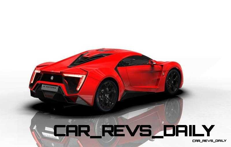 CarRevsDaily Supercars - 2014 W Motors Lykan Hypersport Colors 77